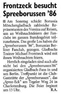Fußball-Woche, 07.12.2009